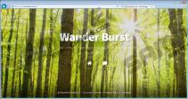 Wander Burst