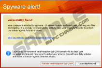 Spyware Alert! Vulnerabilities found