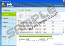 Fake AVG Antivirus 2011